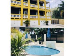 Edificio con 4 apartamentos y piscina nueva