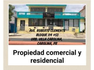 Venta propiedad comercial y residencial