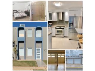 2 baños y 1/2-doble garage-terraza-remodelada