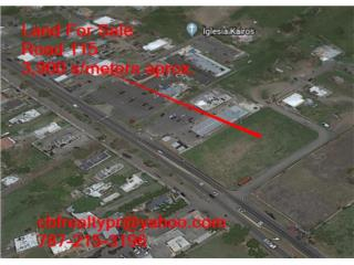 land for sale  3,900 s/meters aprox PR 115
