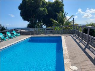 Hermosa casa con piscina para huéspedes