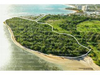 Land 18.47 acres, Luquillo Beachfront