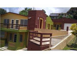 Casa Moderna en Niveles en el Campo Vista Mar
