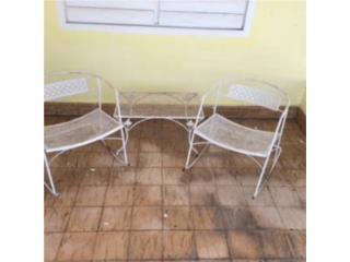 Juego de balcon en hierro 3 piezas, Puerto Rico