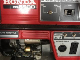 Planta Electrica Honda EB6500, Puerto Rico