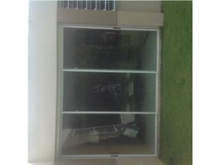Puerta slidding door y screen slidding door, Puerto Rico