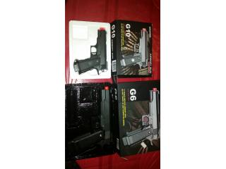 Vendo pistolas de vivi , Puerto Rico