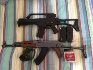 AK 47 y G36C Airsoft , Puerto Rico