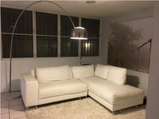 Moderno Mueble Seccional Blanco, Puerto Rico