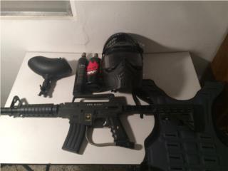 Tippmann Alpha Black E-Grip (Gotcha) $130, Puerto Rico