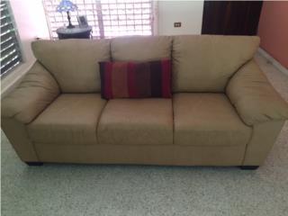 Sofa Khaki en Piel de Kopper, Puerto Rico