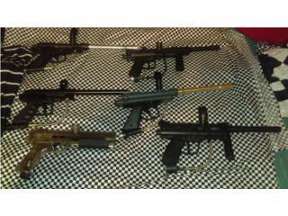 Pistolas / Markers de gotcha, Puerto Rico