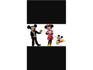 Dizfraces Mickey y Minie, Puerto Rico