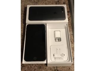 iPhone 7 Plus Negro matte 128gb CLARO NUEVO, Puerto Rico