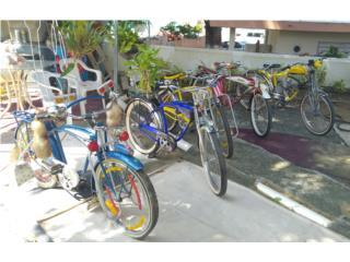 Lote Bicicletas Antiguas Schwinnn, Puerto Rico