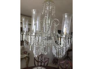Lampara chandelier , Puerto Rico