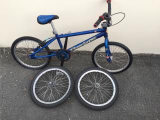 Bicicleta BMX aluminio, Puerto Rico