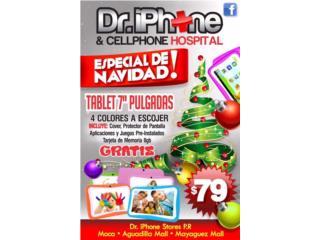 Tablets para niños juegos incluidos cover $79, Puerto Rico