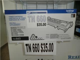 toner TN 660 Reciclado $35.00, Puerto Rico