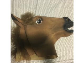 Mascara de caballo, Puerto Rico