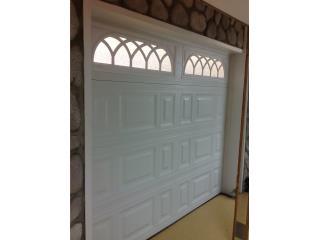 Puertas Garage 9x7 cristal 900 inst , Puerto Rico