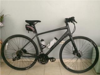 Bicicleta híbrida aluminio specialized $400, Puerto Rico
