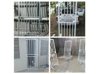 Portón de entrada con cerradura instalado, Puerto Rico
