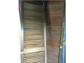 Puertas closet madera, Puerto Rico