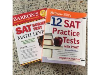 Indispensables libros para repaso SAT, Puerto Rico
