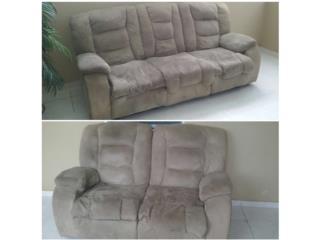 $250 muebles crema reclinables $250, Puerto Rico