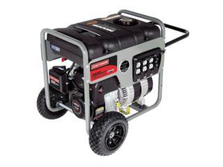 Generador Craftman de 3500 watts, Puerto Rico