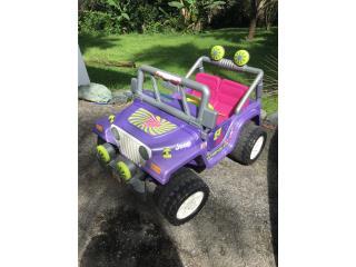 Jeep de Barbie para 2 niñas, Puerto Rico