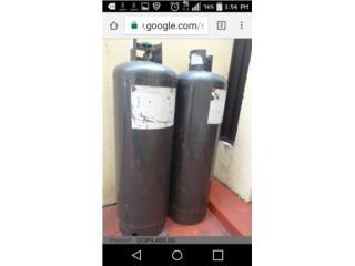 Cilindro GRANDE de GAS!, Puerto Rico