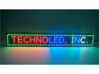 LED SING BOARD FULL COLOR RGB, Puerto Rico