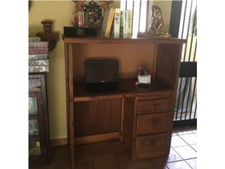 MUEBLE MADERA *TV*JUEGOS*DVD*COMPU*LIBROS $50, Puerto Rico