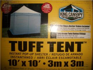 10x10 Instant Canopy with walls, King Canopy, Puerto Rico