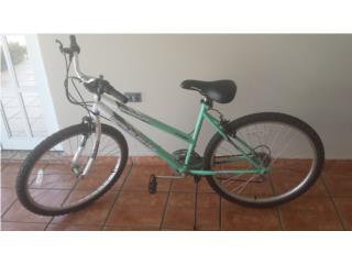 Bicicleta para mujer, Puerto Rico