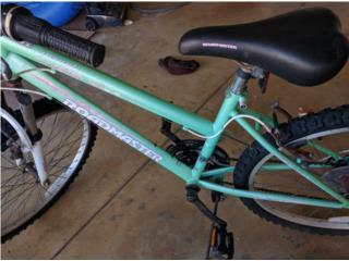 Bicicleta para dama, Puerto Rico