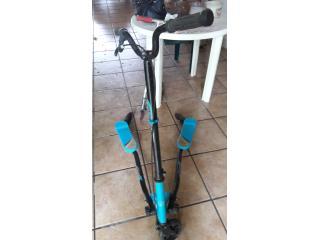 Scooter Trikke Azul Usada, Puerto Rico