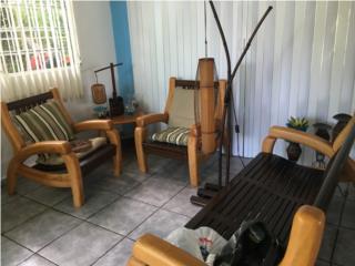 Muebles de patio o sala, Puerto Rico