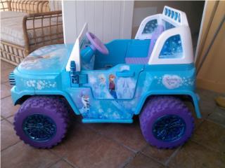 carrito power wheel de frozen poco uso $175., Puerto Rico