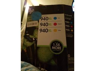 Tintas de color HP 940XL, Puerto Rico
