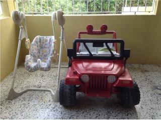 carro para ninos, Puerto Rico