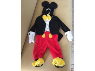 Disfraz Mickey mouse 6-9 meses, Puerto Rico