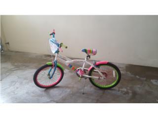 Bicicleta para ni�a, Puerto Rico