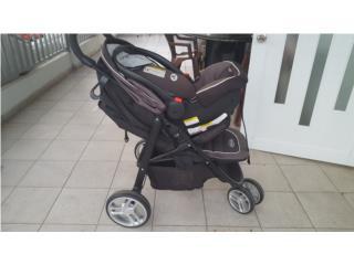 Se vende coche de bebe Graco Sungride, Puerto Rico
