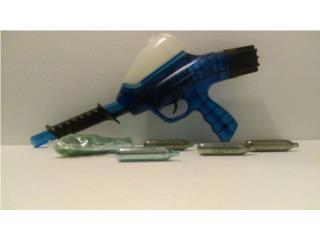 Pistola de Paintball, 50 balas, 4 CO2, Hopper, Puerto Rico