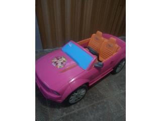 PoweWheel Barbie, poco uso, Puerto Rico