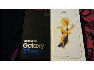 Iphone 6S PLUS 16GB GOLD Y GALAXY S7 EDGE, Puerto Rico