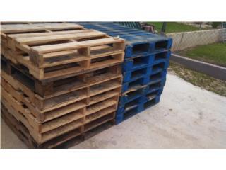 paletas de madera a 5 y 3, Puerto Rico